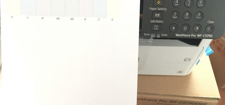 Заправка принтеров Epson Work Force Pro WF-C5790